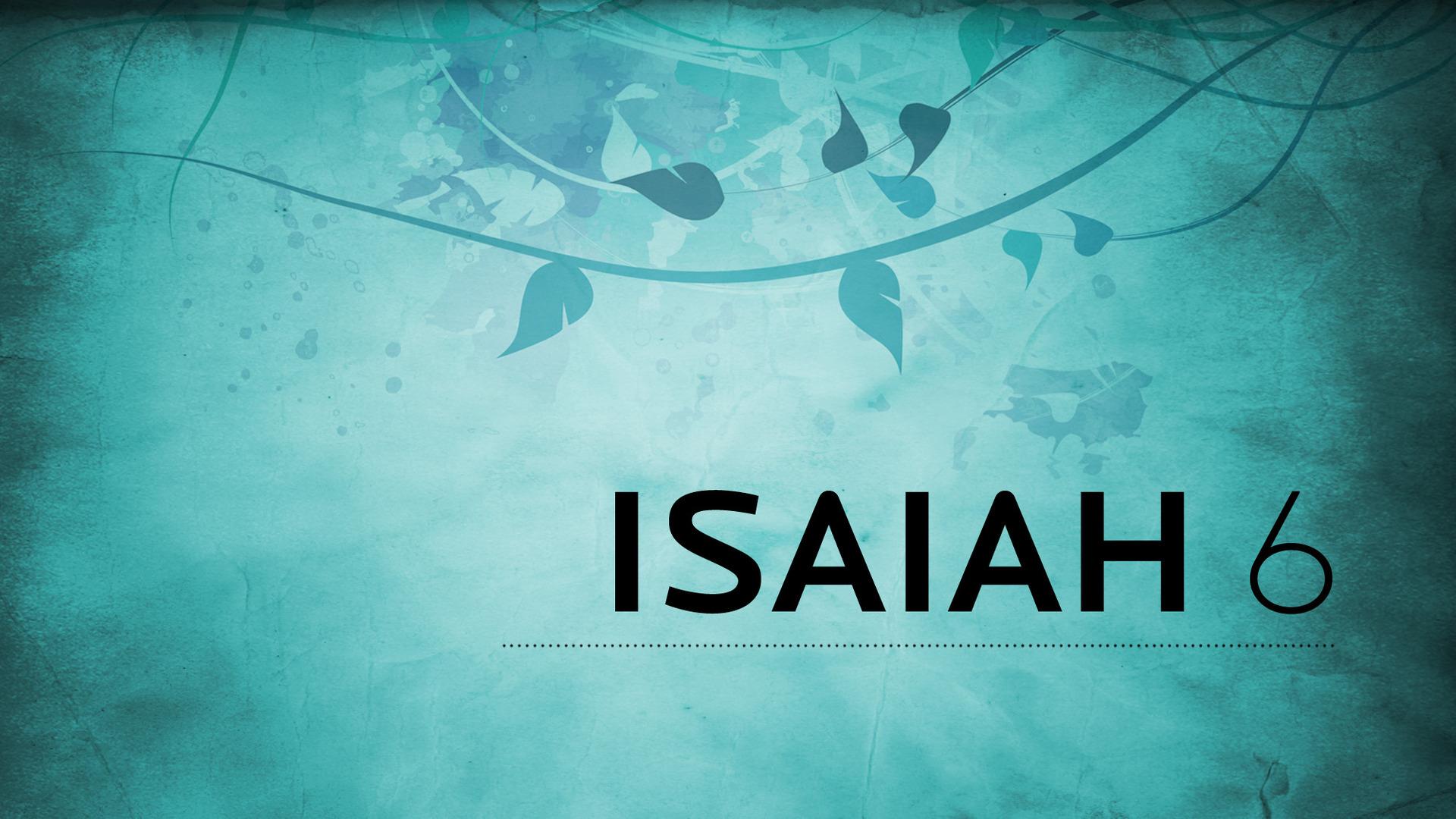 Isaiah 6
